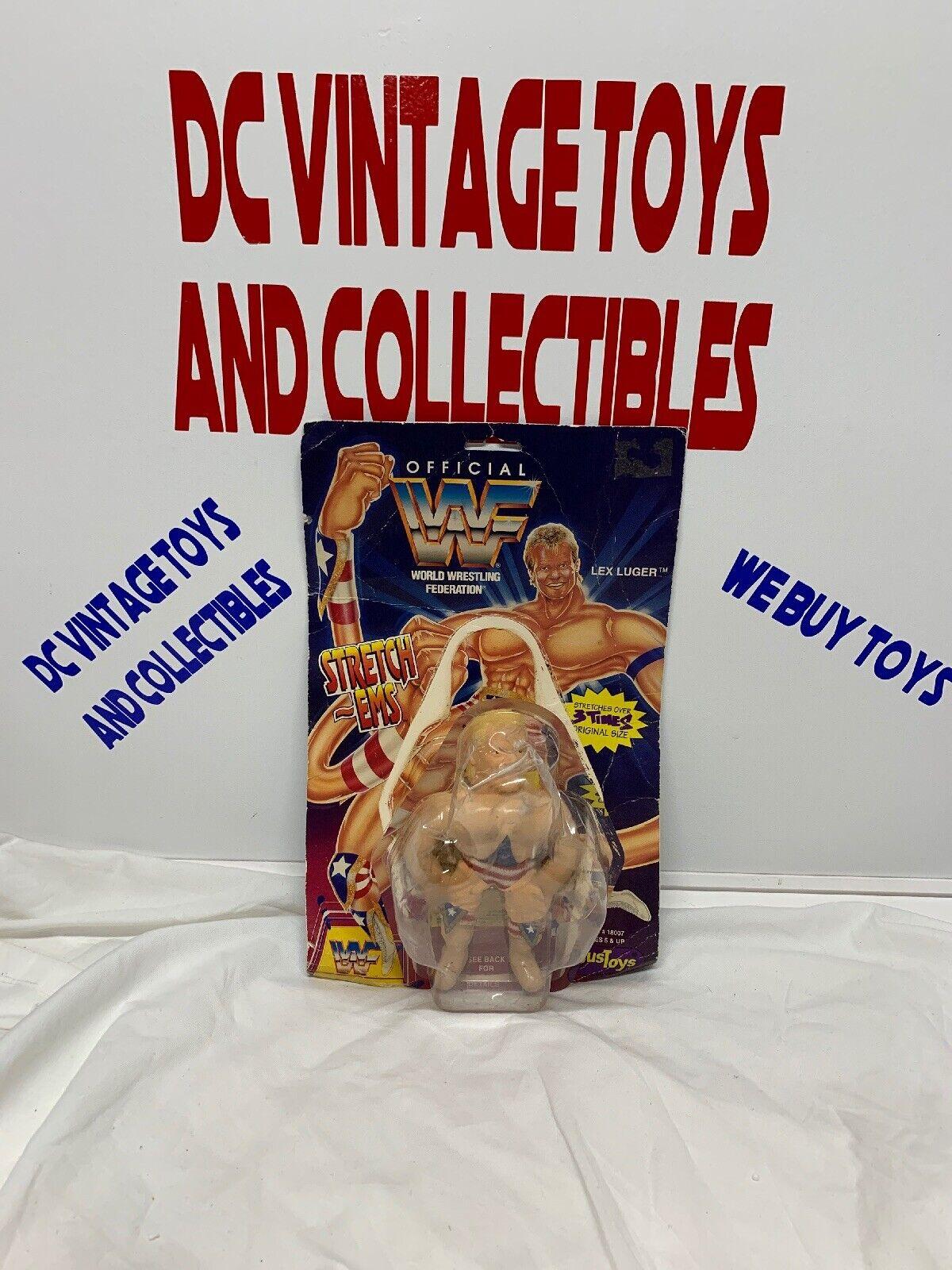Vintage Lex Luger Stretch-Ems wrestling figure - WWF   WWE 1994
