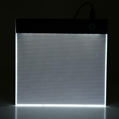 Portable A5 LED Light Box Drawing Tracing Tracer Copy Board Table Pad+USB Cable