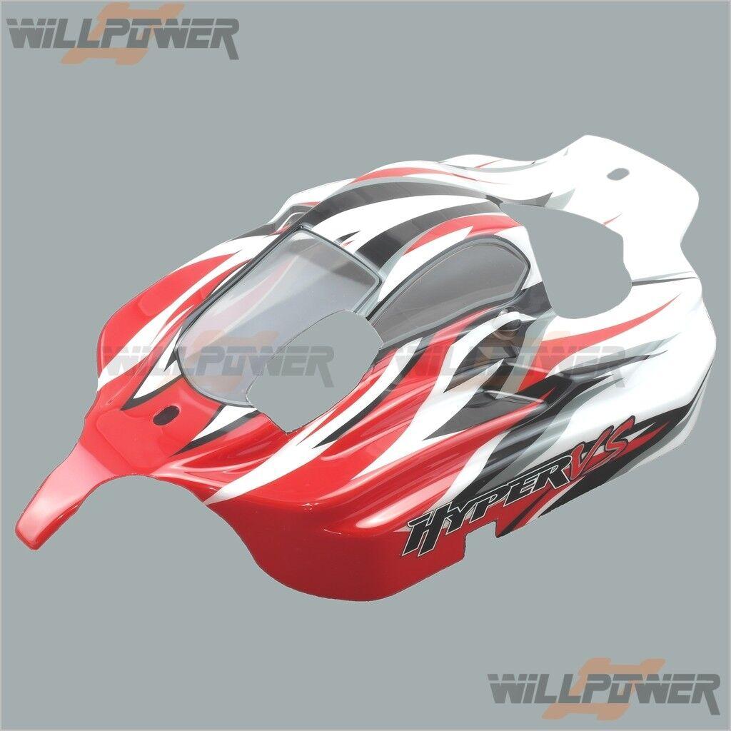 Painted Printed corpo Shell  Cover  85033R (RC-Willenergia) HOBAO Hyper VS  i nuovi stili più caldi