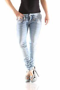 D9661 779 Slim Donna Denim Jeans Herrlicher Nuovo Pitch 7CwtqnB