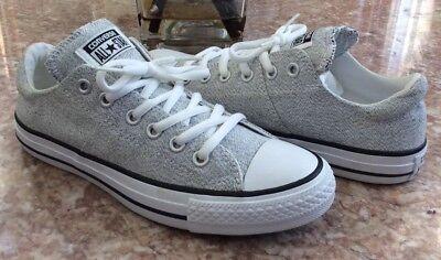 Women Gray Madison Oxford Shoes 5.5