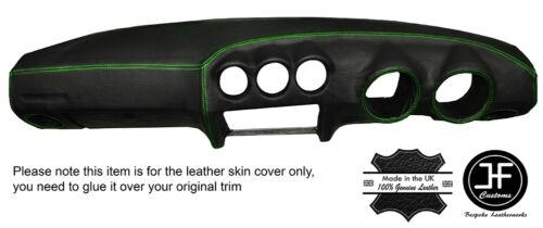 2 Cuciture verde DASH Dashboard Leather Cover Adatta DATSUN 260Z 280Z 2