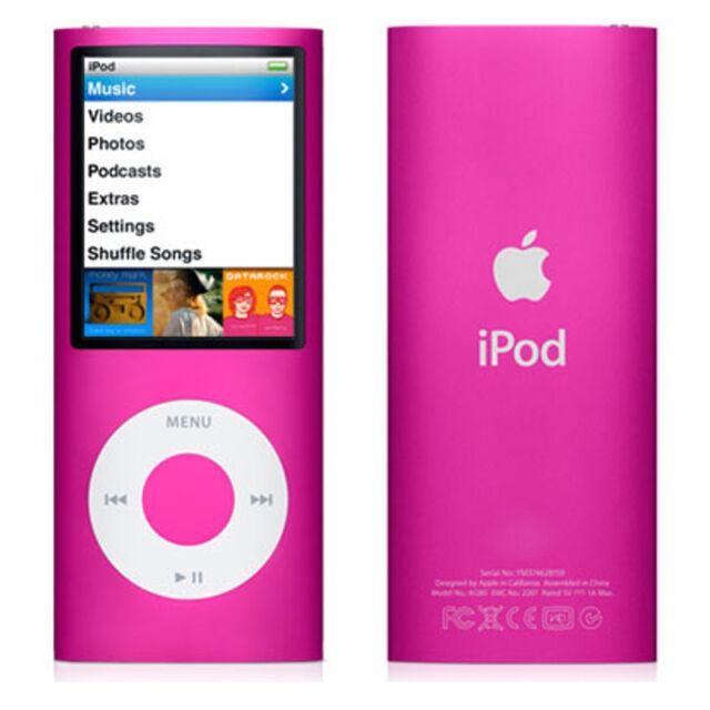 Apple iPod nano-chromatic (4th Generation) Pink (8GB)