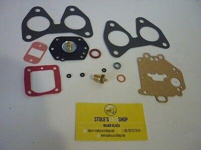 Conjunto reparación Solex 32phh carburador Fiat 1100r agujas