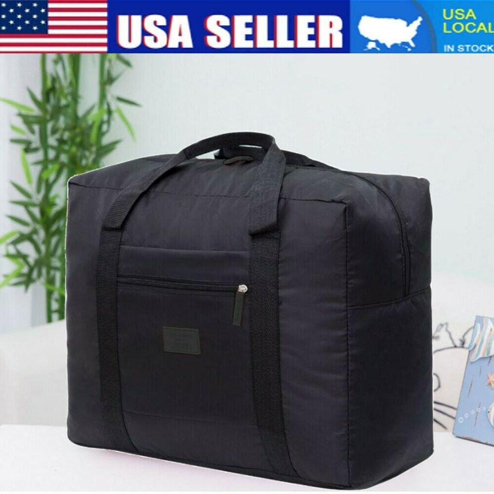 Packable Travel Duffel Bag Waterproof Nylon Foldable Carry P
