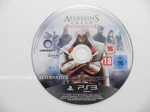 jeu-seul-ASSASSIN-039-S-CREED-BROTHERHOOD-playstation-3-PS3-en-francais-loose-game
