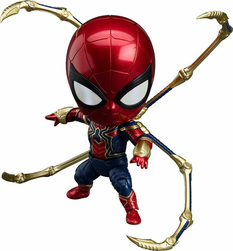 Good Smile Company Nendorid Avengers Infinity Guerre Iron Spider Infinity  Edition  nouvelle marque