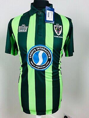AFC Wimbledon Away football shirt 2015-2016 Soccer Jersey Official Away MEDIUM