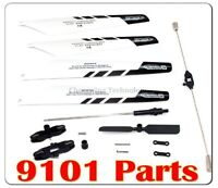Us Spare Parts Replacement For Double Horse 9101 Rc Helicopter Black & White