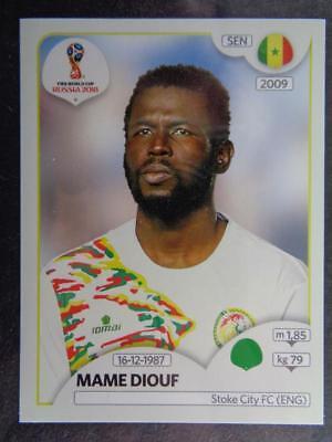 Mame Diouf Panini WM 2018 World Cup Russia Senegal Sticker 631