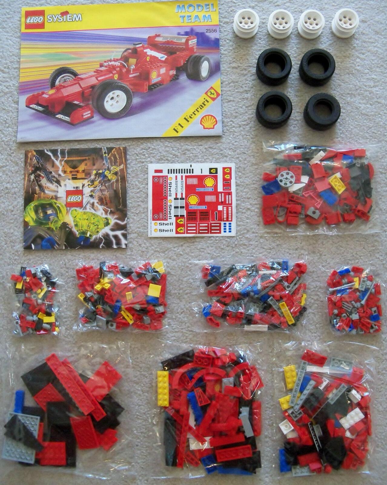 Lego System Racing - Selten Modell Team F1 Ferrari 2556 - Neu (ohne Schachtel)