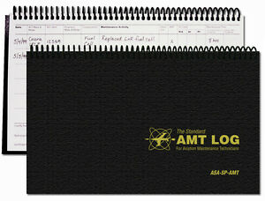 ASA AMT Log for Maintenance Technicians, IAs and Students | ASA-SP-AMT