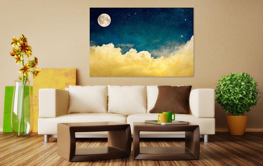 3D Blauer Himmel wolken 622 Fototapeten Wandbild BildTapete AJSTORE DE Lemon