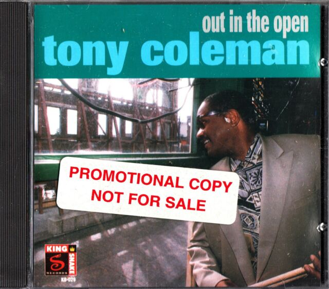 TONY COLEMAN- Out In The Open- 1996 Blues CD (The Knight Crew) KS-029
