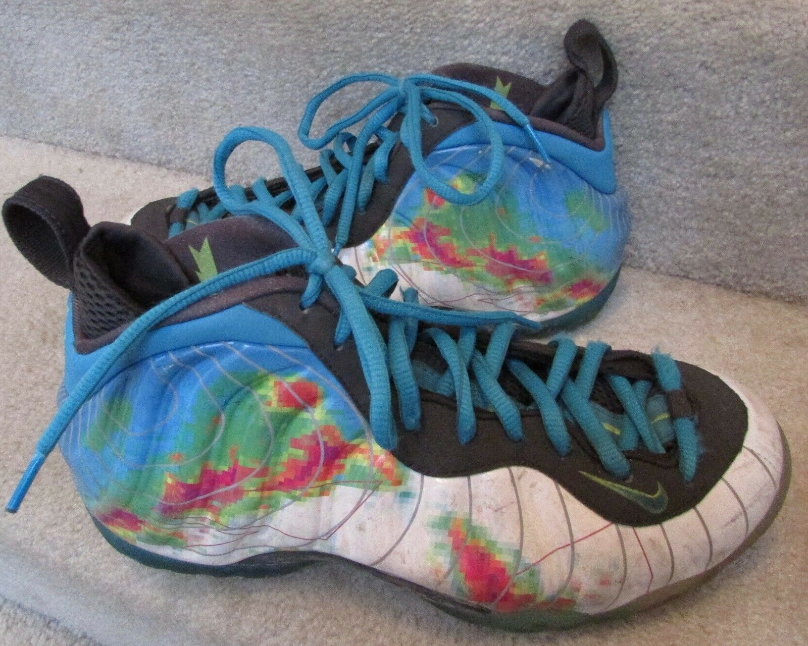 648d10e692 2013 NIke Foamposite Weatherman Sneakers Basketball shoes Size 7.5  575420-100. 32 New Nike Vapor Untouchable Pro Mens 8 -13 Black Football  Cleats 833385 002