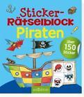 Sticker-Rätselblock Piraten (2016, Taschenbuch)