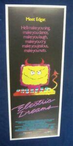 ELECTRIC-DREAMS-1984-VIRGINIA-MADSEN-ORIGINAL-INSERT-ROLLED-POSTER-14-X-36