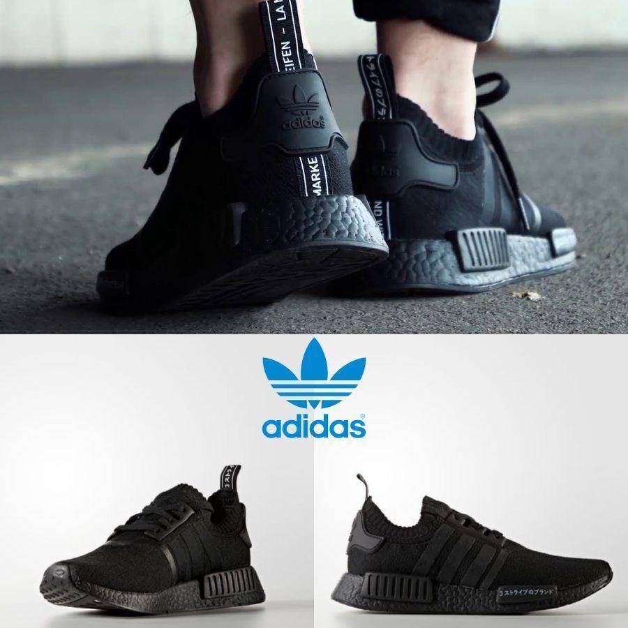 Adidas Original NMD R1 PK Japón Limited Zapatillas Negro Negro BZ02018 Limited Japón 77fa40