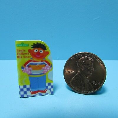 Seuss HOP ON POP Miniature Book Dollhouse 1:12 Scale Illustrated Readable Dr