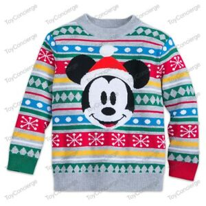 Disney Mickey Mouse Boys Fleece Christmas Hoodie