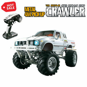 HG-P407-1-10-Scale-2-4G-3CH-4WD-Metal-RC-Racing-Vehicle-w-LED-Light-RTR-Version