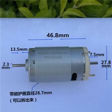 Mini Rs 395 Electric Toy Motor Dc6v 24v 9v 12v 18v Large Torque Dual 23mm Shaft