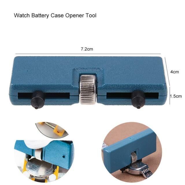 Repair Tools & Kits Adjustable Watch Opener Back Case Press Closer Remover Two Feet Opening Screw Wrench Watchmaker Tools Modern Techniques