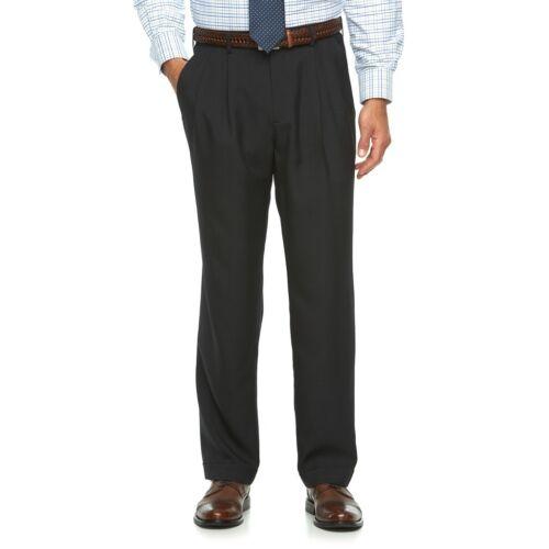 New Croft/&Barrow Men/'s Comfort Opticool Pleated Dress Pants Size 32-42 MSRP $54
