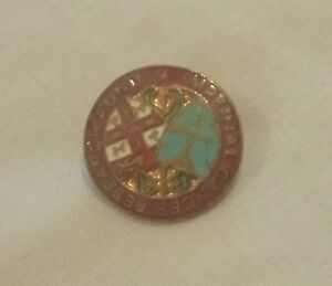 Imperial cancer research fund enamel badge - Wellingborough, United Kingdom - Imperial cancer research fund enamel badge - Wellingborough, United Kingdom