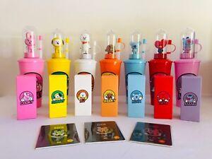[US seller] BTS BT21 CGV Tumbler Mood Light Stamp / Passport - Bangtan Boys