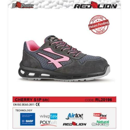 UPOWER SCARPE LAVORO ANTINFORTUNISTICA CHERRY S1P SRC U-POWER RL20196