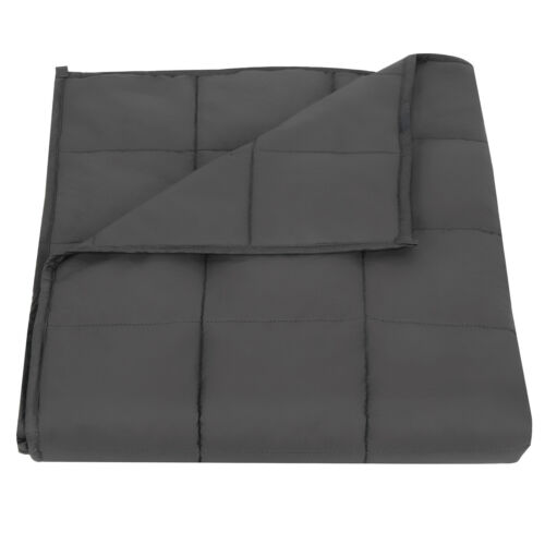 """60 x 80/"""" 12//15//20LB Blanket Weighted Blanket Sleep Stress and Anxiety 48 x 72"""