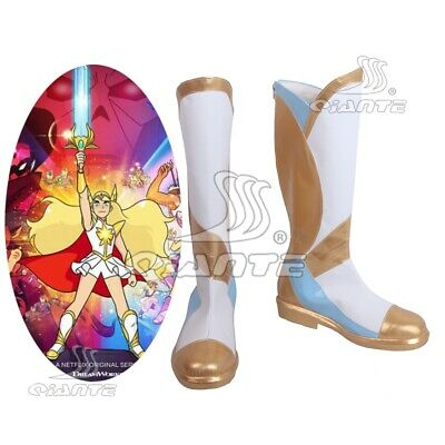 She-Ra Princess of Power Adora She-Ra New Edition Cosplay Boots Customized Shoes