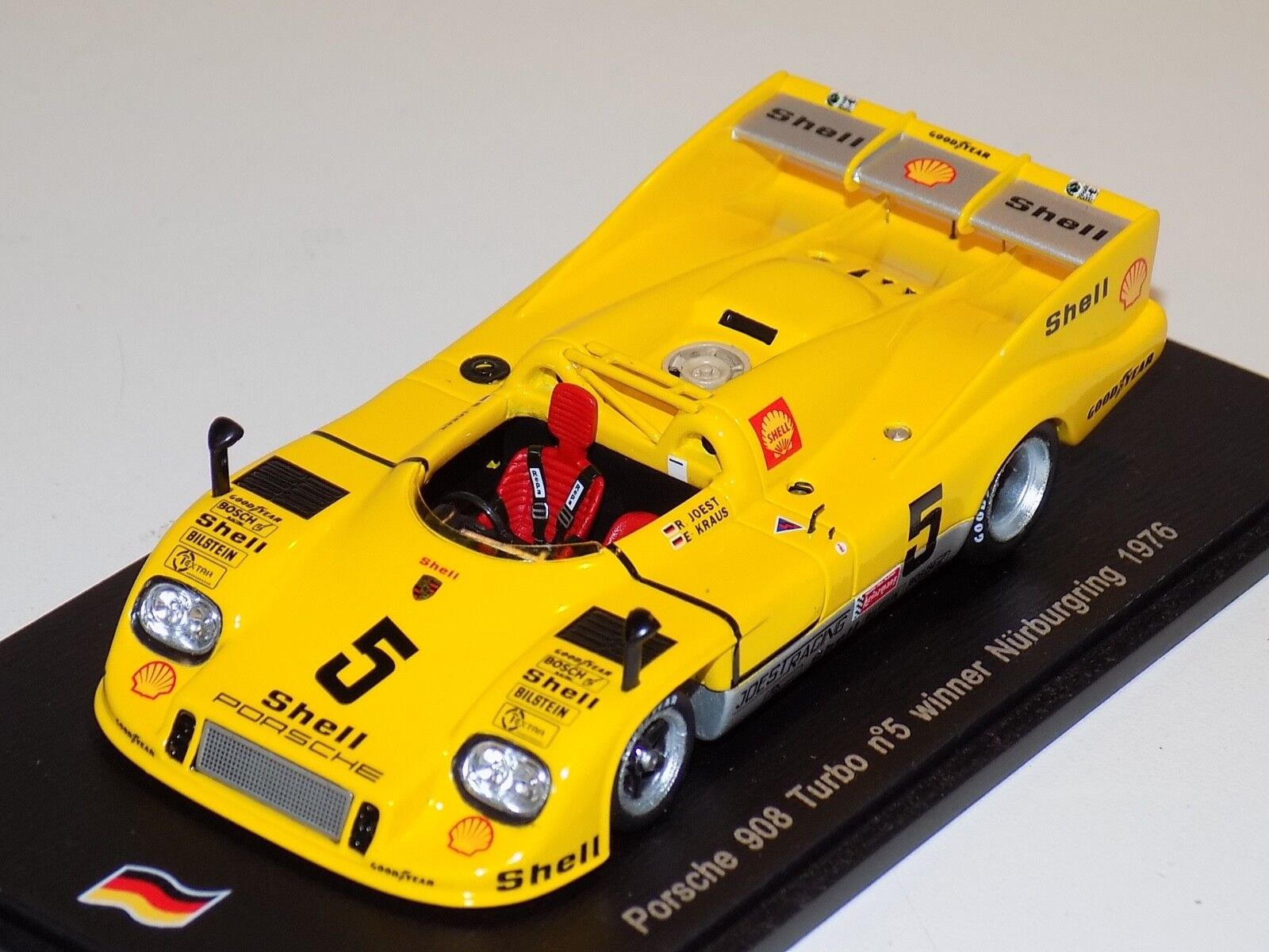 1 43 43 43 Spark Porsche 908 Turbo  Car km of Nurburgring 1976  SG076 0eedc9