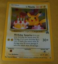POKEMON BLACK STAR PROMO CARD - #24 BIRTHDAY PIKACHU (HOLO) ULTRA RARE