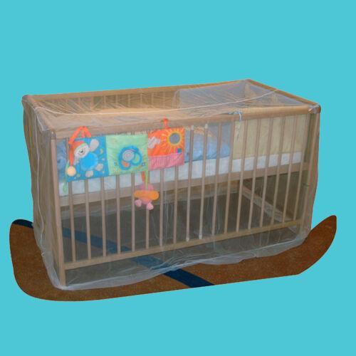 Moskitonetz für Babybetten Baby Bett Fliegen Insektenschutz ASMi® Mückennetz