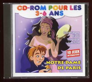 10 JEUX INTERACTIFS + 1 HISTOIRE POUR 3-6 ans 1 CD-ROM   eBay