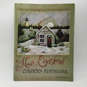 Vintage-1993-New-England-Country-Furniture-by-Susie-Saunders-Tole-Painting-Book