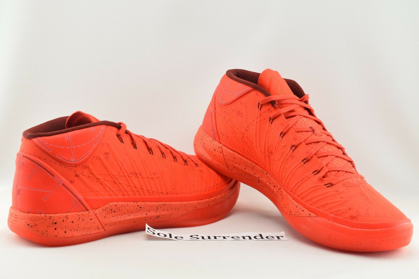 Nike Kobe AD Passion - CHOOSE SIZE - 922482-600 Habanero Triple Solar October QS