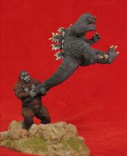 King Kong vs Godzilla 1962 Monster Rare Unpainted Figure Model Resin Kit