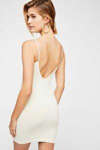 New-Free-People-Womens-Seamless-Sleeveless-Low-Back-Mini-Slip-Bodycon-Dress-30