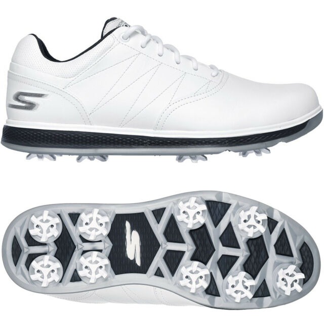 45ee630d155d SKECHERS 2018 GO GOLF PRO V.3 WATERPROOF LEATHER MENS SPIKED GOLF SHOES