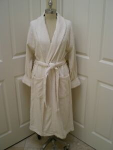 Image is loading Egyptian-Cotton-Womens-100-Turkish-toweling-loop-terry- fe5c7dc65