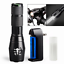 120000-LM-Tactical-Police-T6-LED-5-Modes-Flashlight-AAA-18650-Rechargeable-Torch thumbnail 3