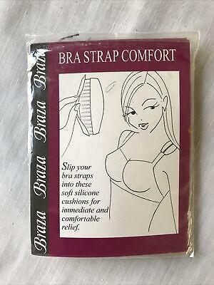"Braza Bra Strap Comfort up to 3//4/"" Immediate Comfort Relief Stops Deep Grooves"