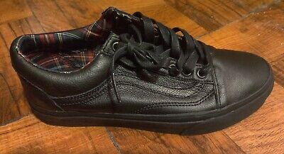 Vans Old Skool Leather Black/Plaid Men