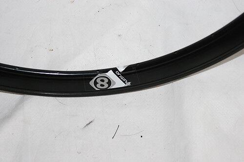 Origin8 Trak Attak DEEP-V Gloss Black 32 Hole 700C rim Fixie Track  O8 1