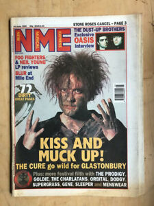 CURE NME MAGAZINE JUNE 24 1995 - ROBERT SMITH COVER WITH MORE INSIDE UK