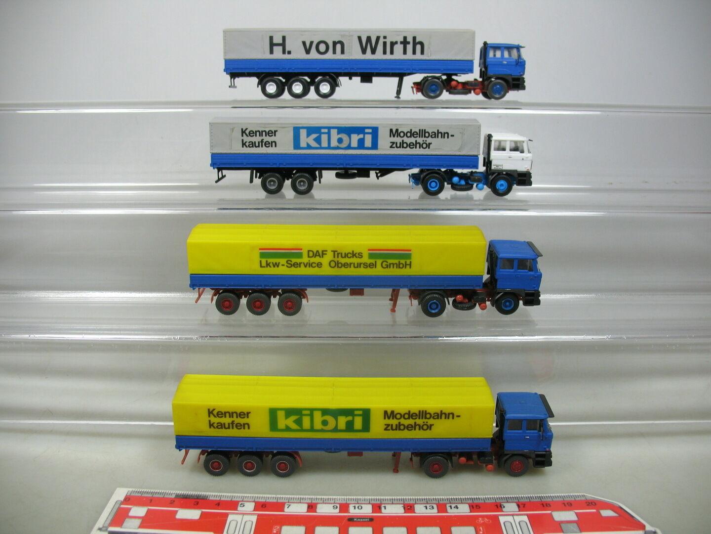 Ai785-0, 5  4x KIBRI () h0 semi-remorque camion CAMION DAF  wirth etc