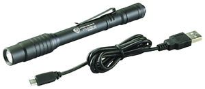 Streamlight 66134 Stylus Pro USB Rechargeable Penlight with Holster and LED